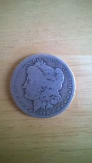 Silver Dollar Coin Found While Metal Detecting