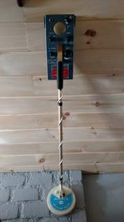 The metal detector that got my hooked on the hobby.