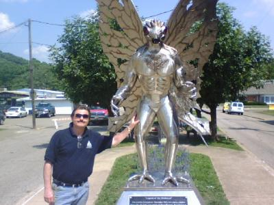 Mothman Captured at Point Pleasant